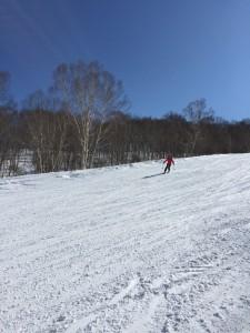 かぐらスキー場テレマークスキーレッスン